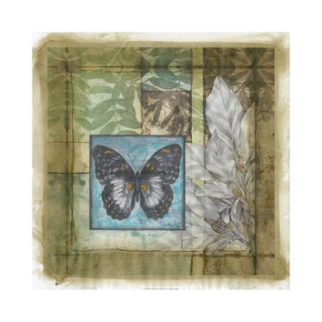 Stained Glass Butterfly IV