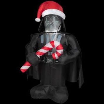 Gemmy, 3.5 ft. LED Inflatable Outdoor Darth Vader, 34782 at The Home Depot - Mobile