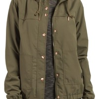 Volcom Enemy Stone Hooded Jacket | Nordstrom