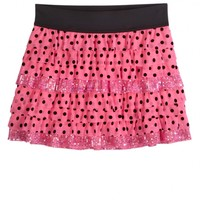 Polka Dot Tiered Skirt | Shop Justice
