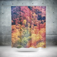 Autumn Forest Shower Curtain