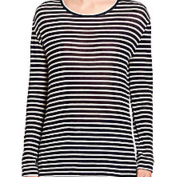 IRO - Lachlan Striped Long-Sleeve Tee - Saks Fifth Avenue Mobile