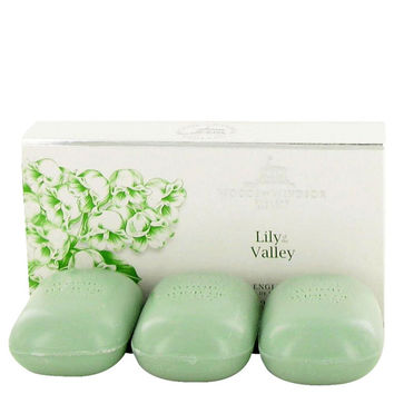 Lily Of The Valley (woods Of Windsor) By Woods Of Windsor 3 X 3.5 Oz Soap 3.5 Oz