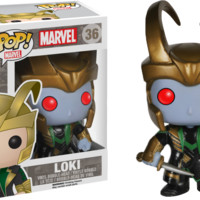 Thor - Frost Giant Loki with Helmet Pop! Vinyl Figure