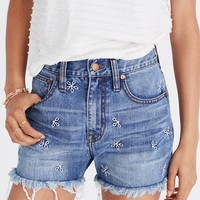 The Perfect Jean Short: Daisy Embroidered Edition