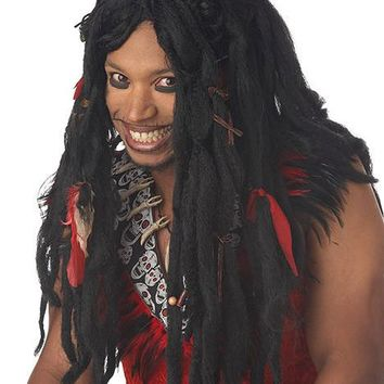 Voodoo Dreads Wig (One Size,Black)