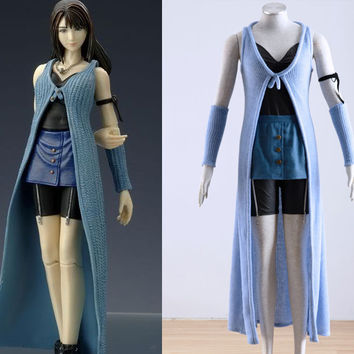 Rinoa Costume, Rinoa Heartilly Cosplay Costume from Final Fantasy VIII