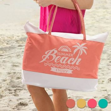 Enjoy Summer Beach Bag