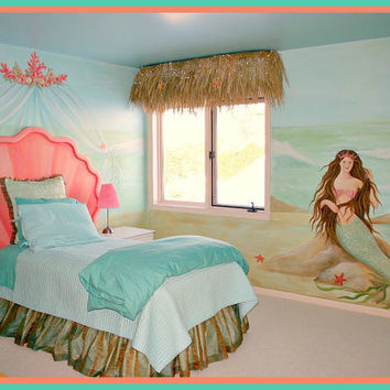 Mermaid Shell Headboard