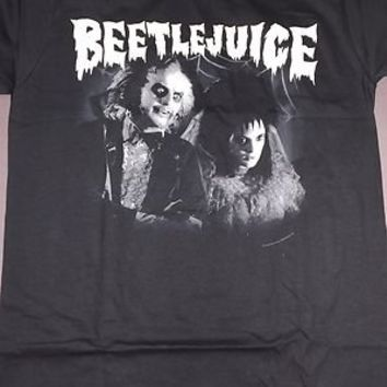 BEETLEJUICE Wedding T-Shirt **NEW movie michael keaton tim burton winona ryder