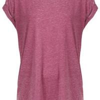 Oversize Burnout Tee - Jersey Tops  - Clothing