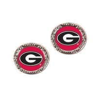 ONETOW NCAA Georgia Bulldogs Carded Earrings