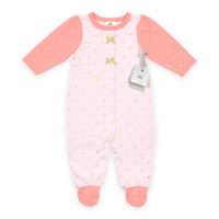 Just Born® Sparkle Sleep and Play Footie in Pink