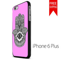 evil eye hamsa Sweet Pink FDL iPhone 6 Plus Case