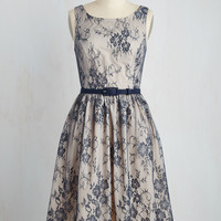 Excel in Elegance Lace Dress | Mod Retro Vintage Dresses | ModCloth.com