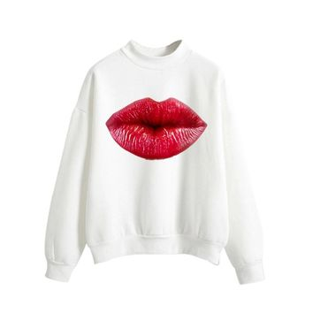 KPOP BTS Bangtan Boys Army Women's Long Sleeve O Neck Sweatshirt Casual Pullover Top  Spring Autumn Harajuku winter moletom riverdale  AT_89_10