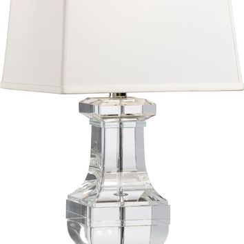 Square Crystal Urn Lamp