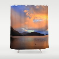 Sunset Shower Curtain by Haroulita | Society6
