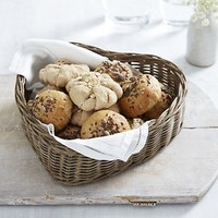 Heart Shaped Bread Basket | Kitchen Accessories | Home Accessories | Home | The White Company UK