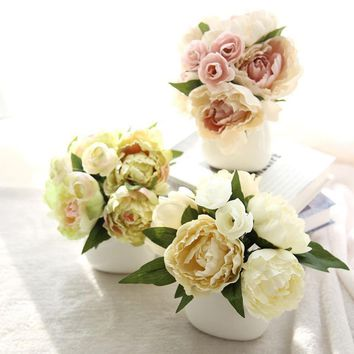 silk arrangements in vases wedding decoration flower hanging flores