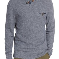 Billy Reid 'Shiloh' Shawl Collar Sweatshirt | Nordstrom