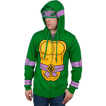 Teenage Mutant Ninja Turtles - I Am Donetello Costume Zip Hoodie