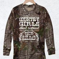 Women's Camo Long Sleeve RealTree® - CG Reload