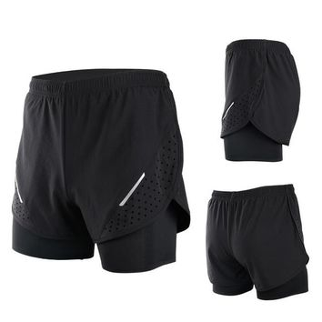 Mountainpeak Breathable Men's Sports Running Shorts Training Jogging Active Shorts Quality Dry Crossfit Shorts
