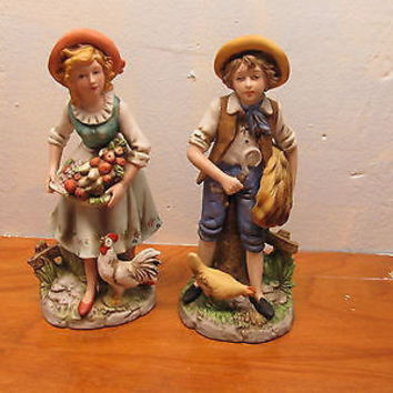 VINTAGE FRENCH COUNTRY COUPLE BY HOMCO