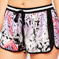 River Island Printed Beach Short