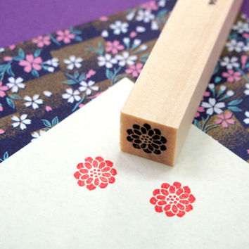Japanese Rubber Stamp for Filofax,Postcard,tiny stamp for planner, calendar, scheduler diary and for designers,cool japan ,Kamon2