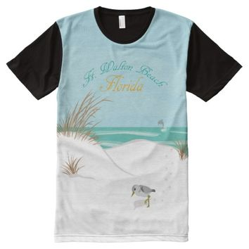 Ft. Walton Beach (Florida) All-Over Print T-shirt