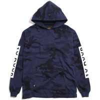 Winter Wars Pullover Hoody Midnight Woodland Camo