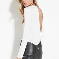 Twisted Cutout-Back Top