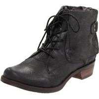 Mia Limited Edition Women`s Suzetta Boot,Antique Black Leather,9 M US