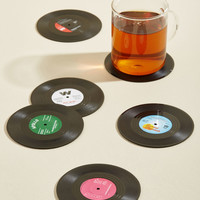 Have the Vinyl Say Coaster Set