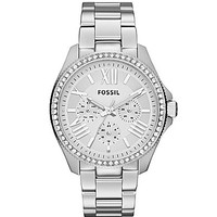 Fossil Cecile Silver Multifunction Watch - Silver/Blue