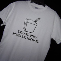 The LOST BOYS VAMPIRE Movie They're Only Noodles Michael T Shirt