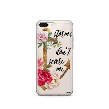 Storms Don't Scare Me - Clear TPU Case Cover