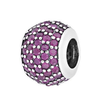 Sterling Silver European Bead for Pandora Bracelet
