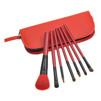 Red 7-pcs Hot Sale Make-up Brush Set = 4831006276