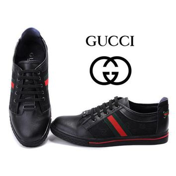 GUCCI Women Men Flats Sneakers Sport Shoes-22