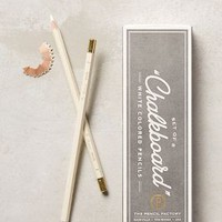 White Colored Pencils by Anthropologie in White Size: Set Of 8 Books