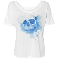 skull fashion tee: Girly Growl