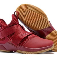 LeBron Soldier 12 XII EP Sneaker - Wine Red