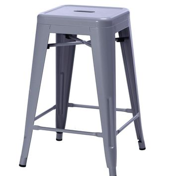 Tolix Style Counter Stool 67cm - Reproduction