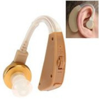 ZDB-111 Mini Voice Amplifier Digital Touching Moderate Loss Hearing Aid, Support Volume Control