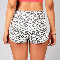 Tribal Xerox Cutoff Shorts | Denim Shorts at Pink Ice