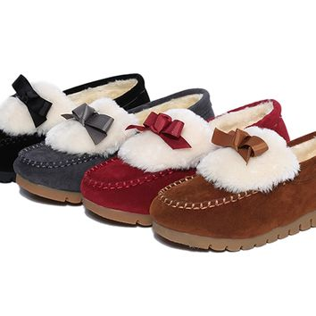 Womens Cute Winter Casual Loafers