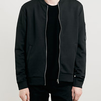 BLACK SCUBA BOMBER JACKET - Men's Jackets & Coats - Clothing